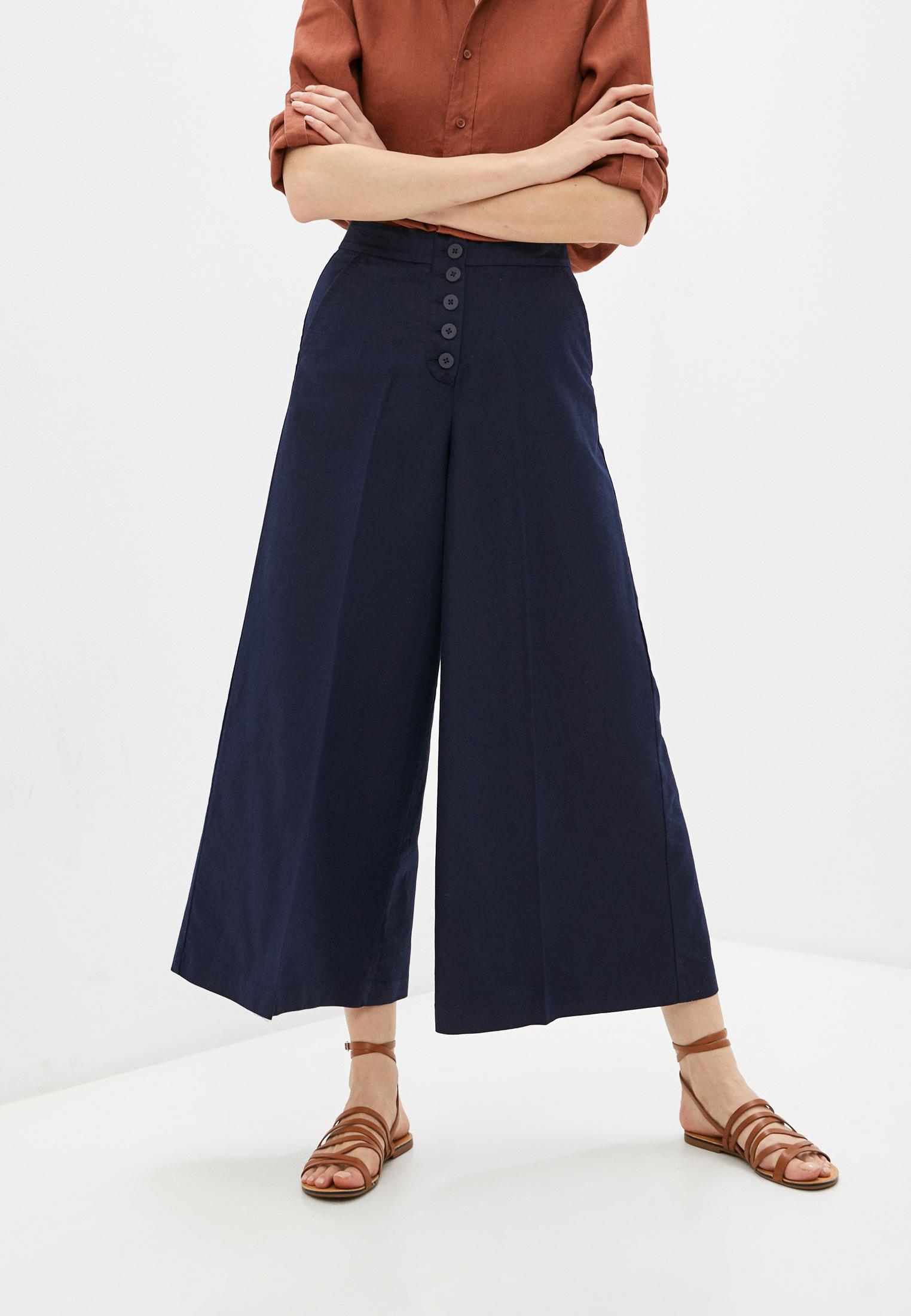 Женские широкие и расклешенные брюки United Colors of Benetton (Юнайтед Колорс оф Бенеттон) 4YQS55A83