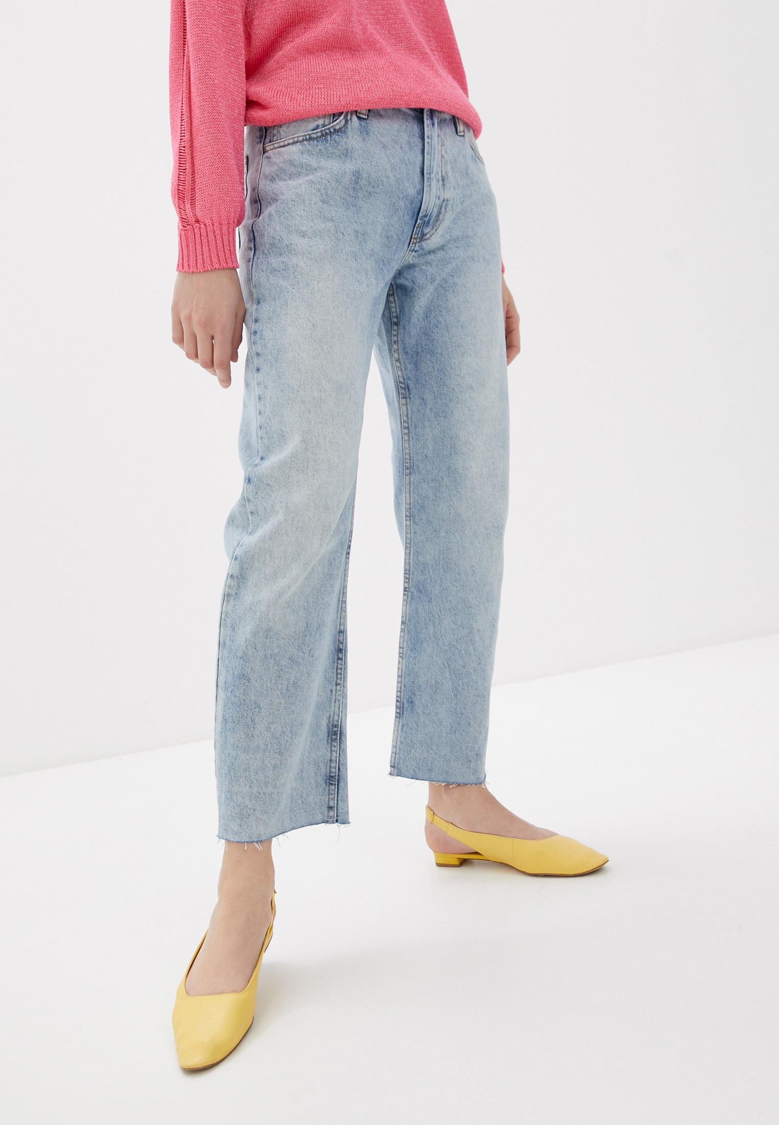 Широкие и расклешенные джинсы United Colors of Benetton (Юнайтед Колорс оф Бенеттон) 4B8X559V4