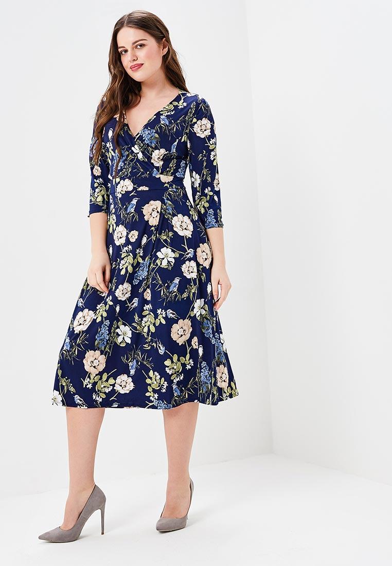 Платье-миди VAY 3404