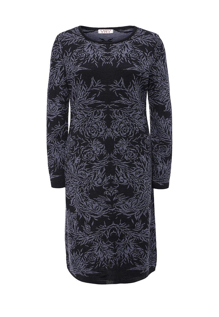 Вязаное платье VAY 2174