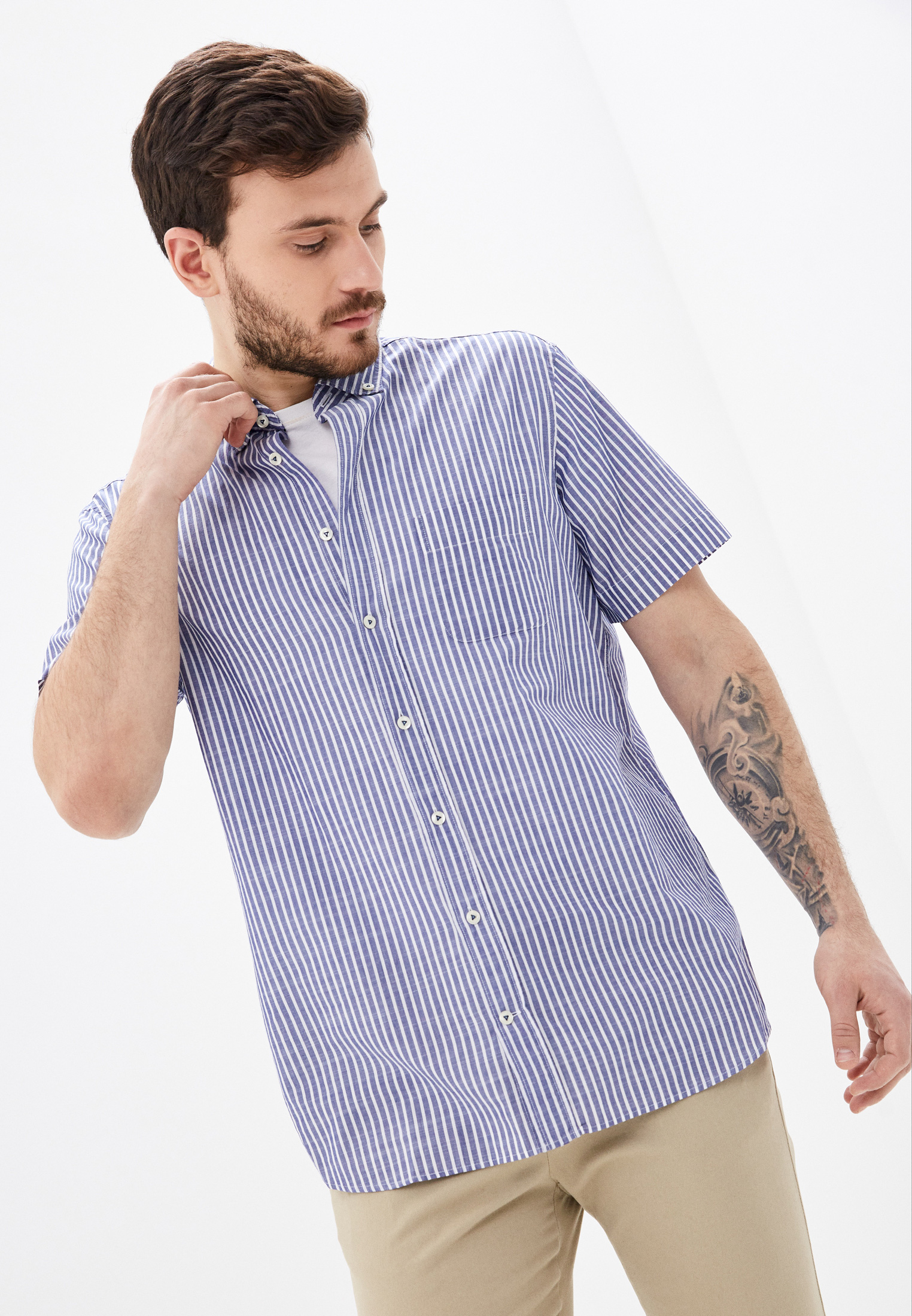 Рубашка с коротким рукавом Van Laack TOY2-S-PTFW_151542_ST