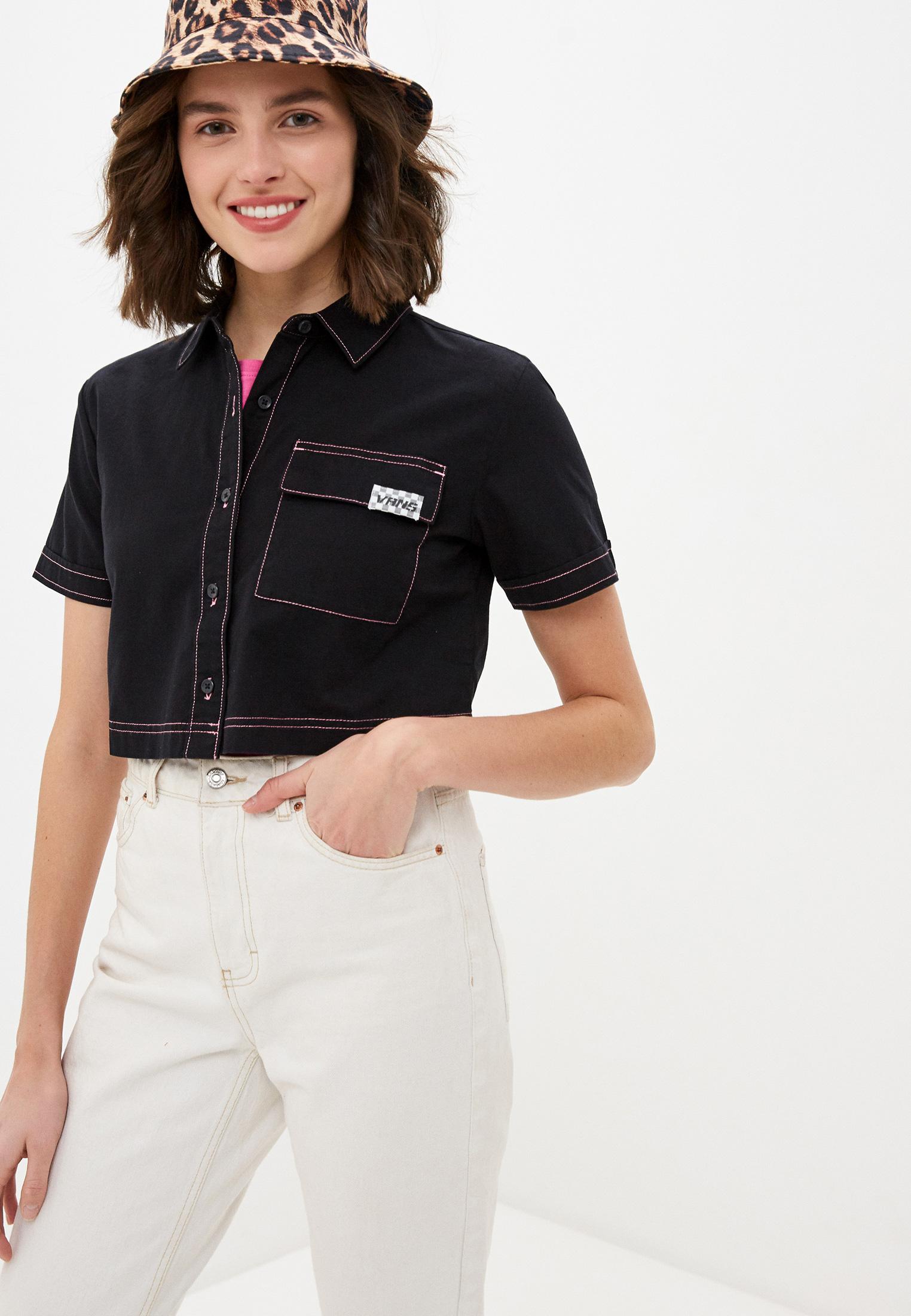 Рубашка с коротким рукавом VANS VA4MVGBLK