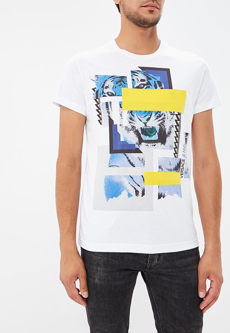 Футболка Versace Jeans EB3GSA77CE36609