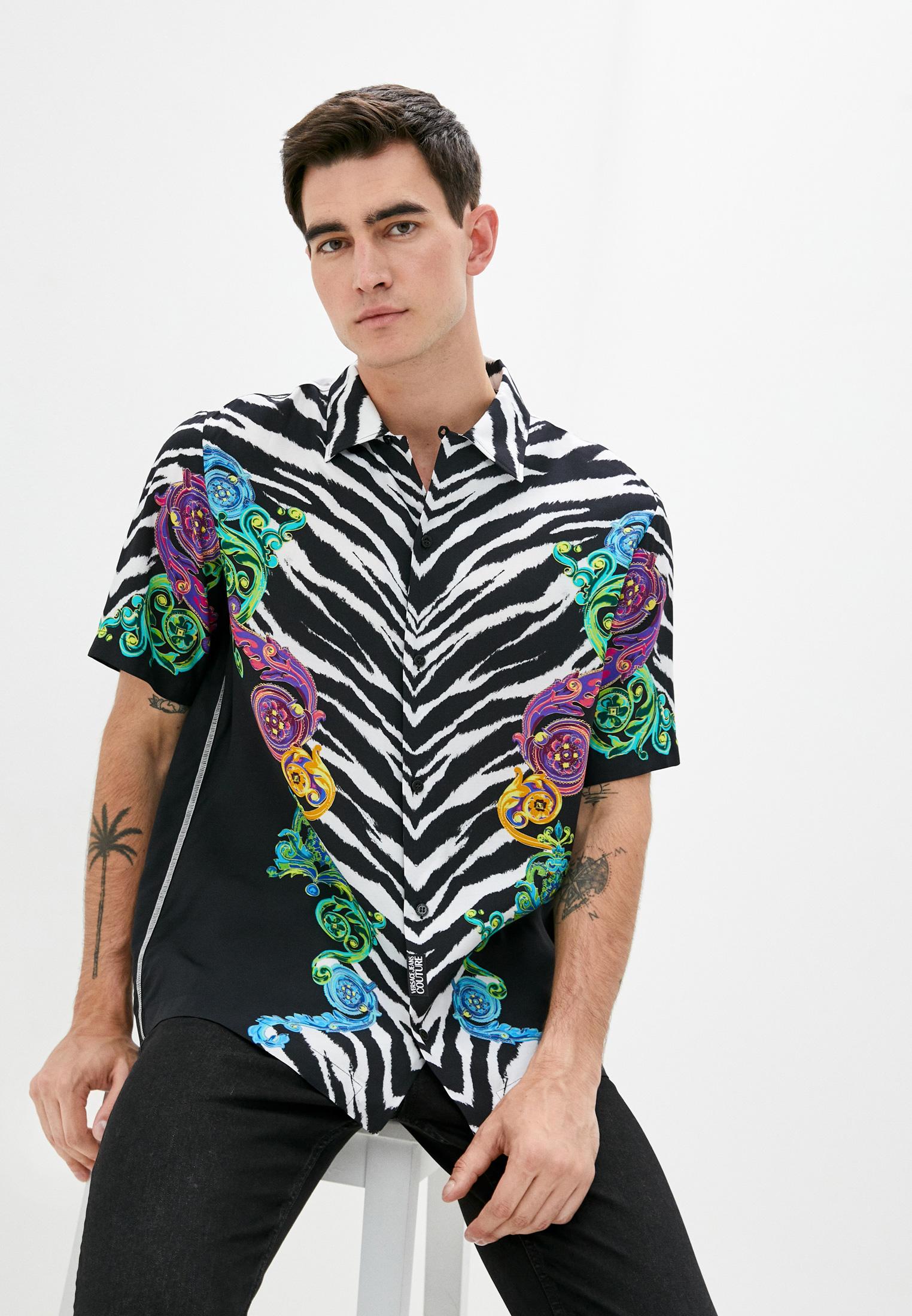 Рубашка с коротким рукавом Versace Jeans Couture B1GVB6B1