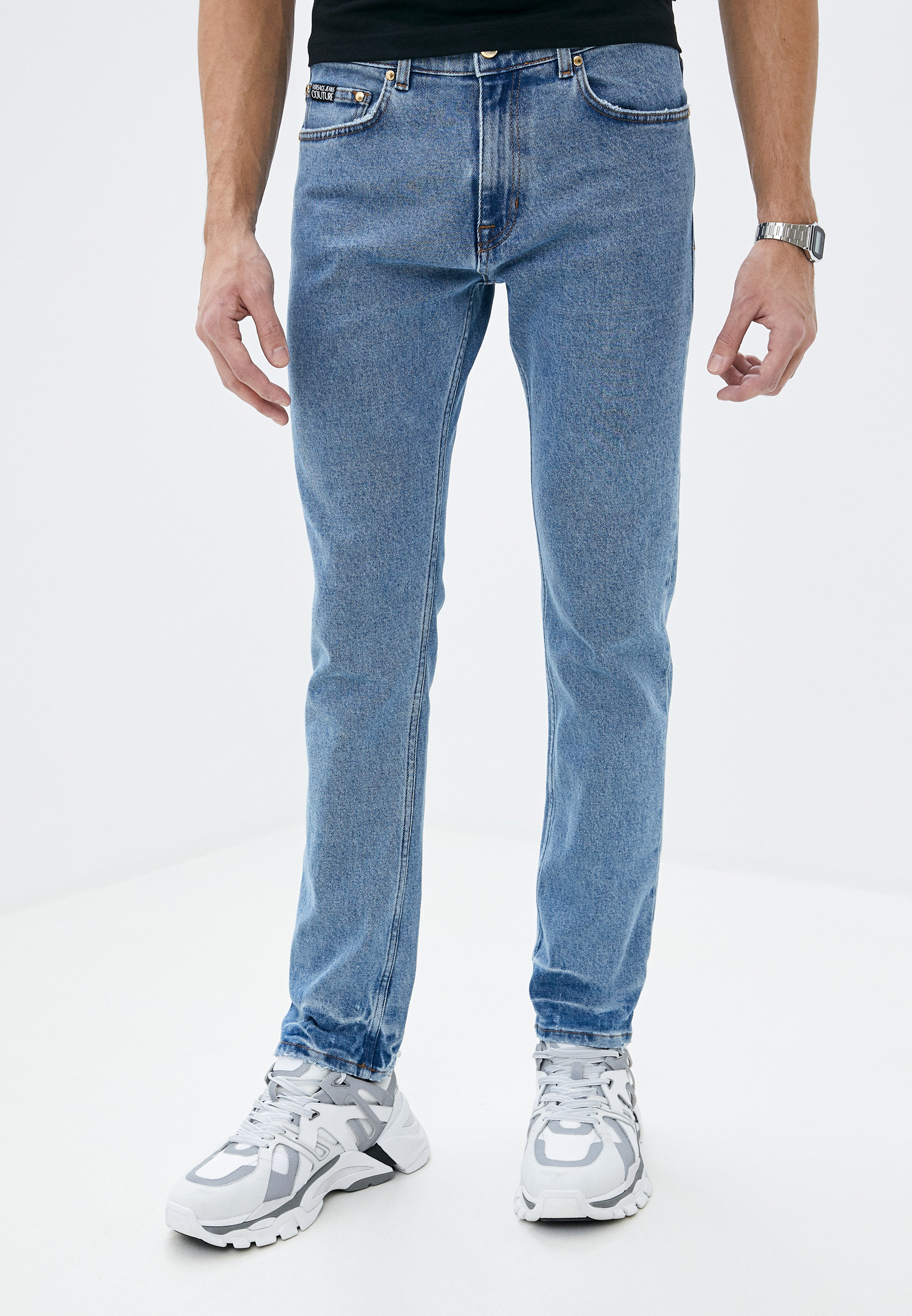 Зауженные джинсы Versace Jeans Couture A2GVA0SM