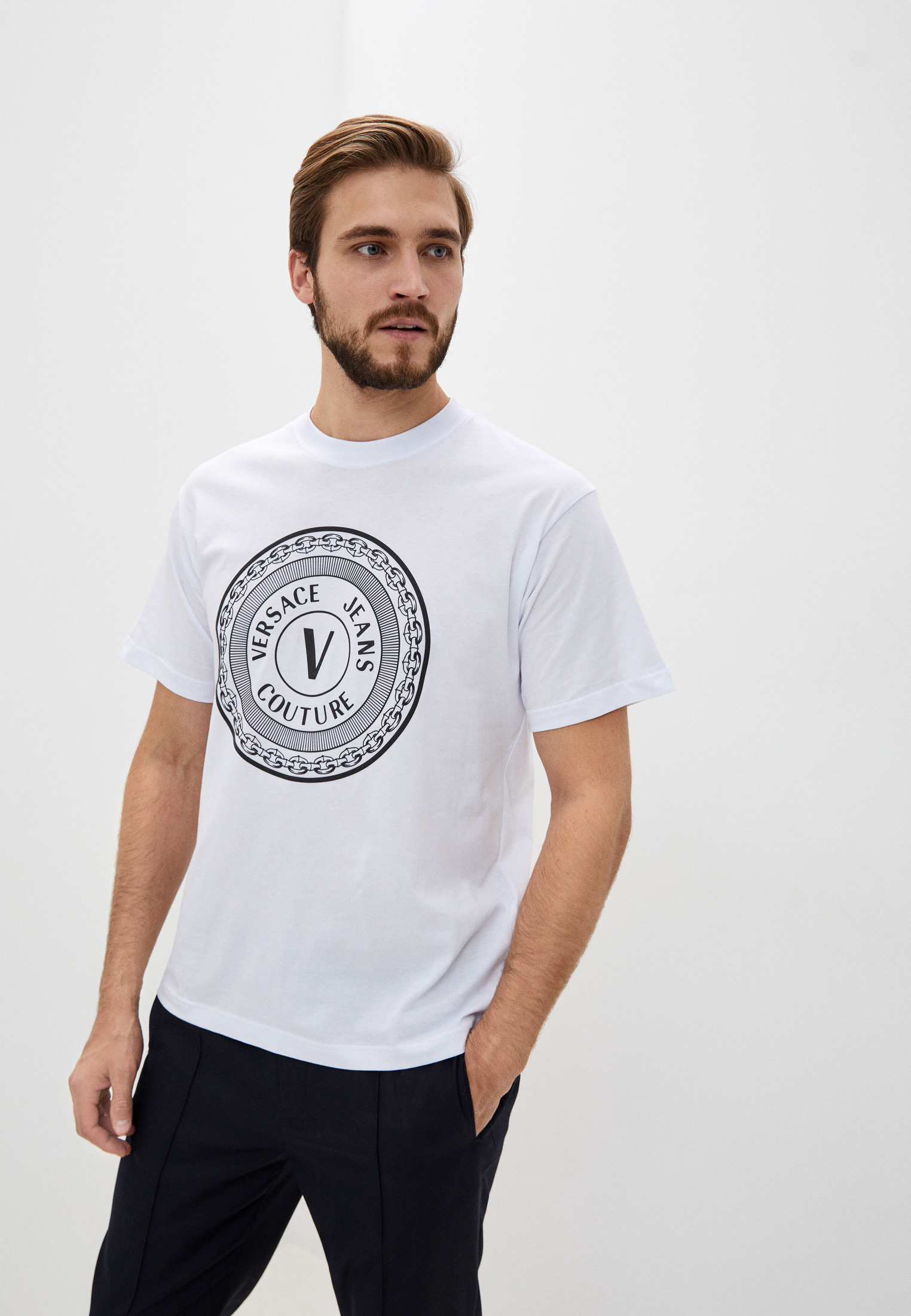 Футболка Versace Jeans Couture B3GZA7TJ30319