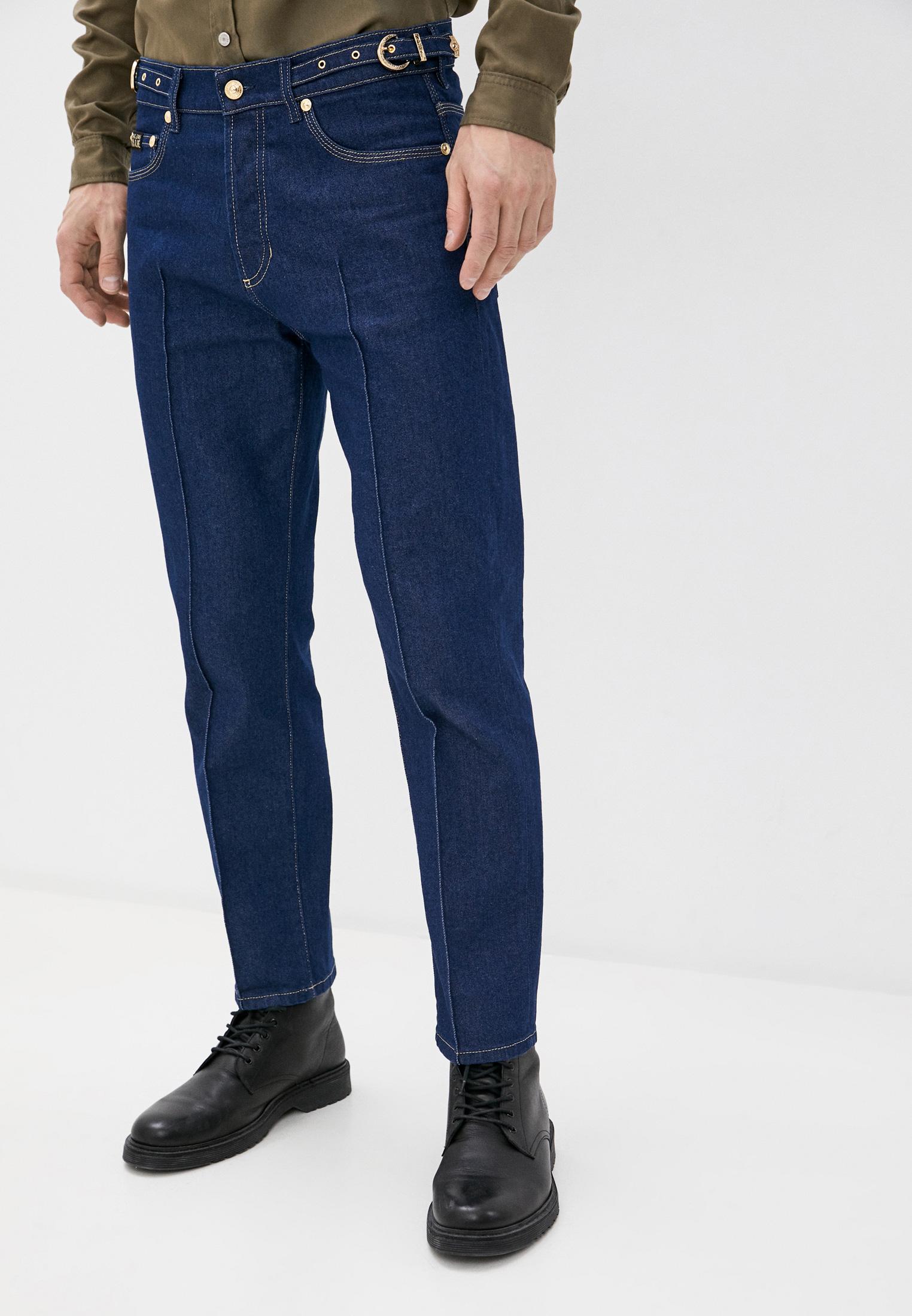Зауженные джинсы Versace Jeans Couture A2GZA0NIAQ954