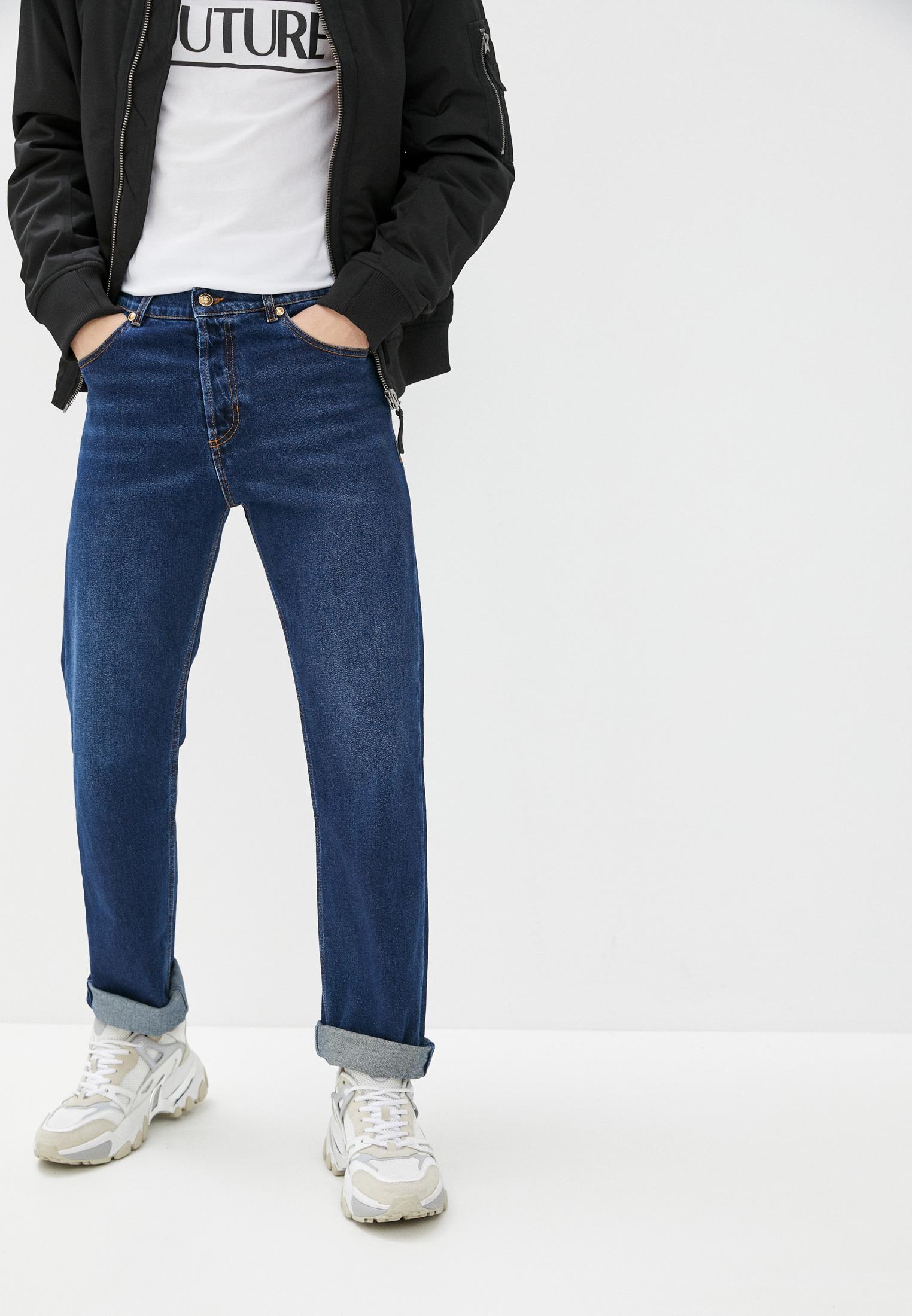 Мужские прямые джинсы Versace Jeans Couture A2GWA0T5
