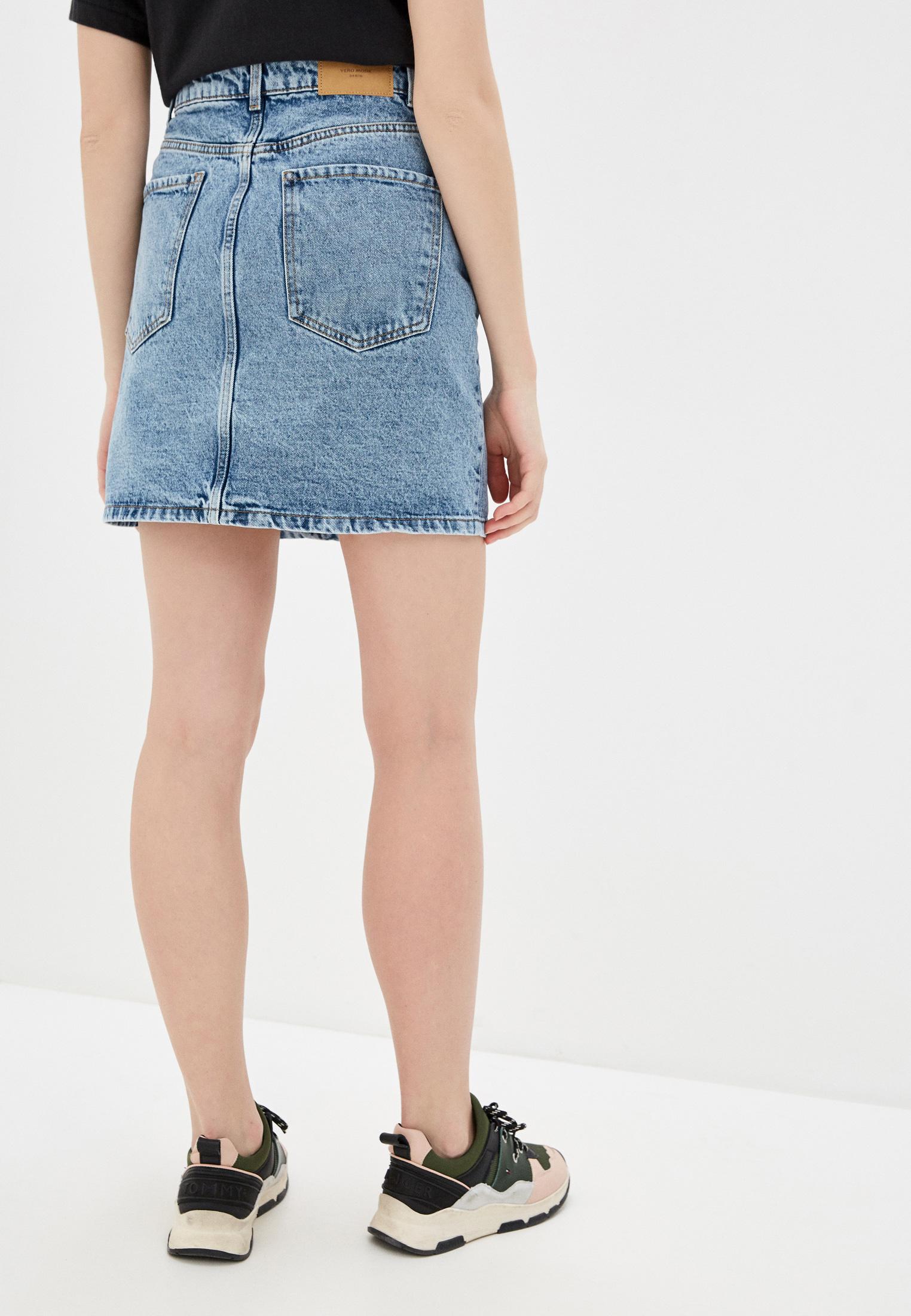 Джинсовая юбка Vero Moda 10226023: изображение 3