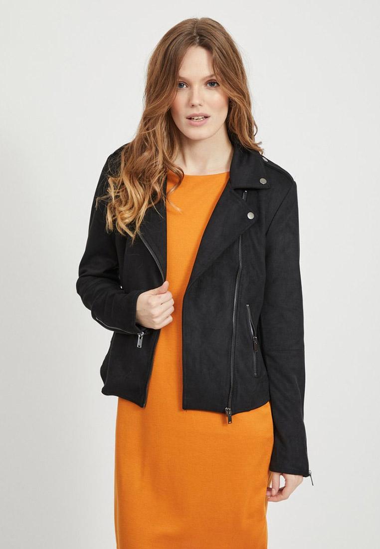 Кожаная куртка Vila Куртка кожаная Vila