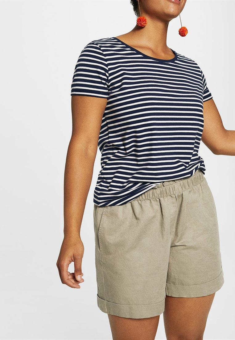 Женские повседневные шорты Violeta by Mango (Виолетта бай Манго) 23057655: изображение 2