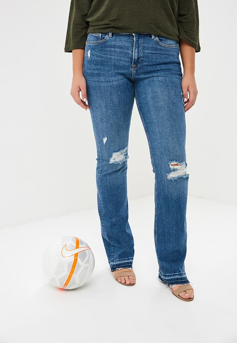 Широкие и расклешенные джинсы Violeta by Mango (Виолетта бай Манго) 33010603
