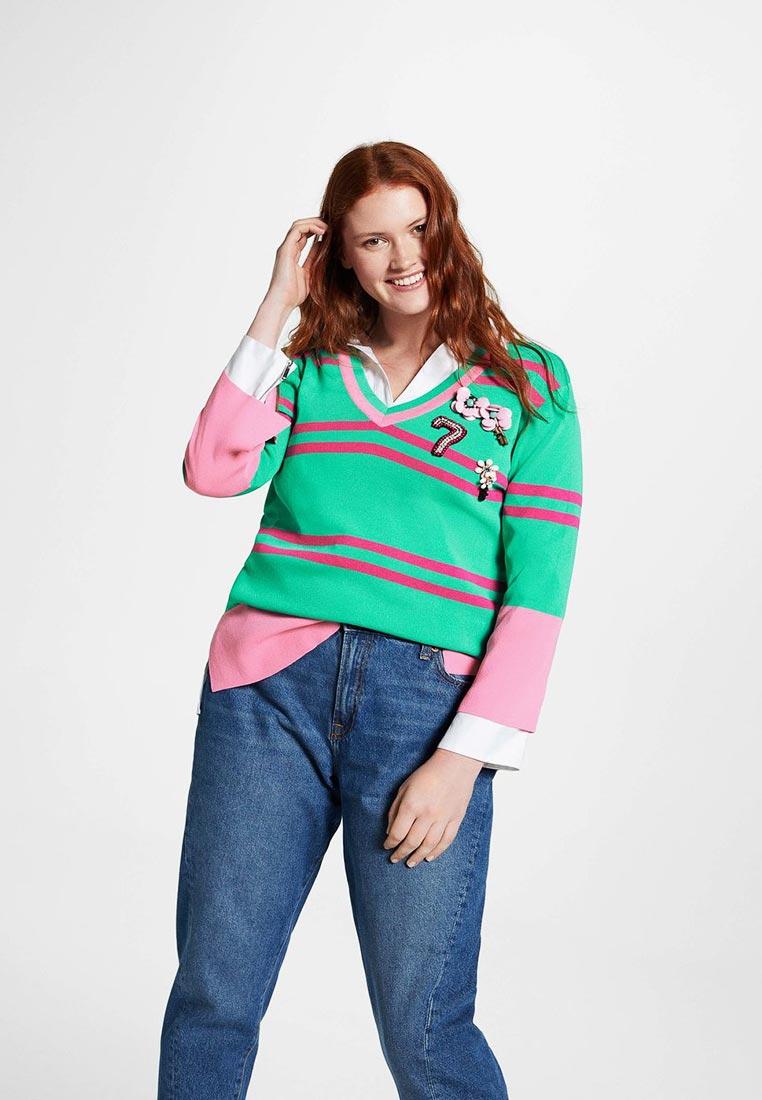 Пуловер Violeta by Mango (Виолетта бай Манго) 33050506