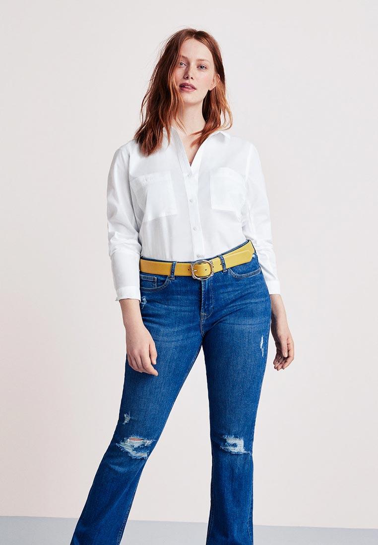 Женские рубашки с длинным рукавом Violeta by Mango (Виолетта бай Манго) 33070626
