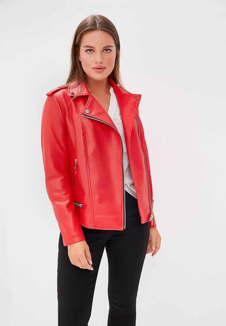 Кожаная куртка Violeta by Mango (Виолетта бай Манго) 33090605