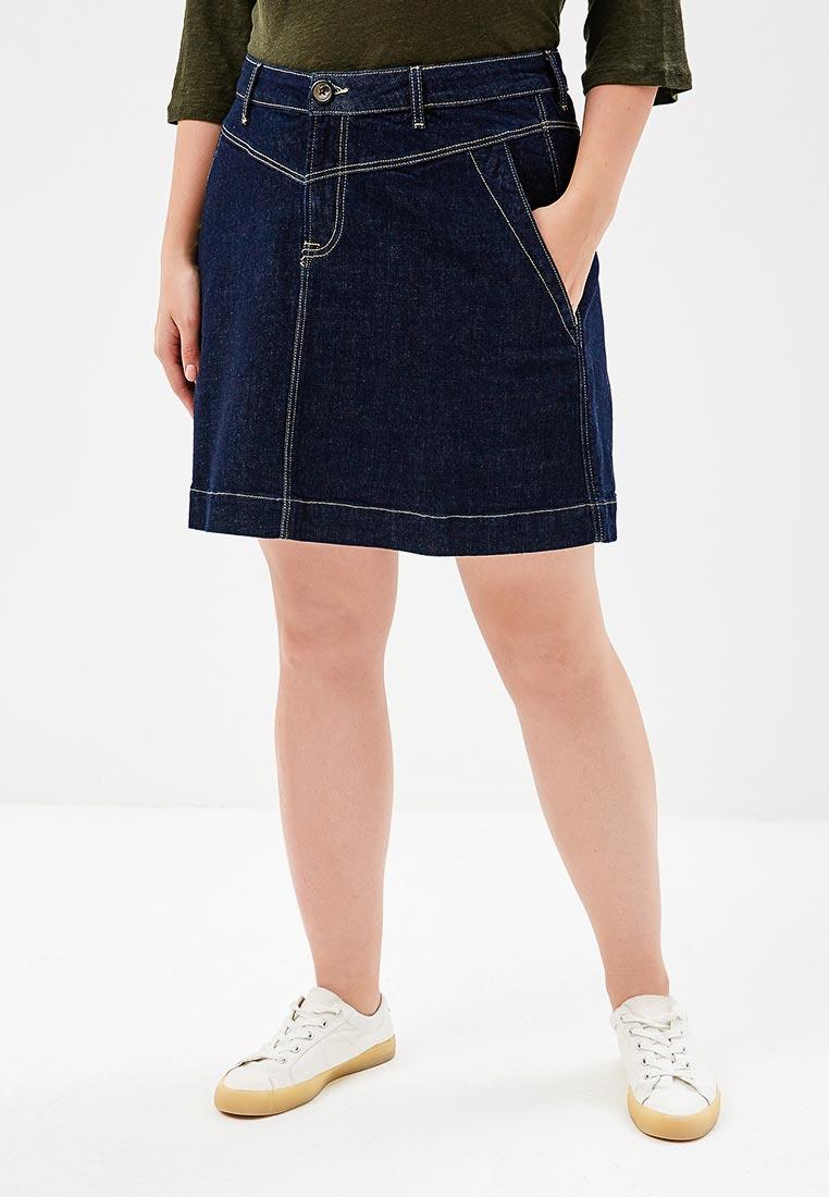 Джинсовая юбка Violeta by Mango (Виолетта бай Манго) 33073716