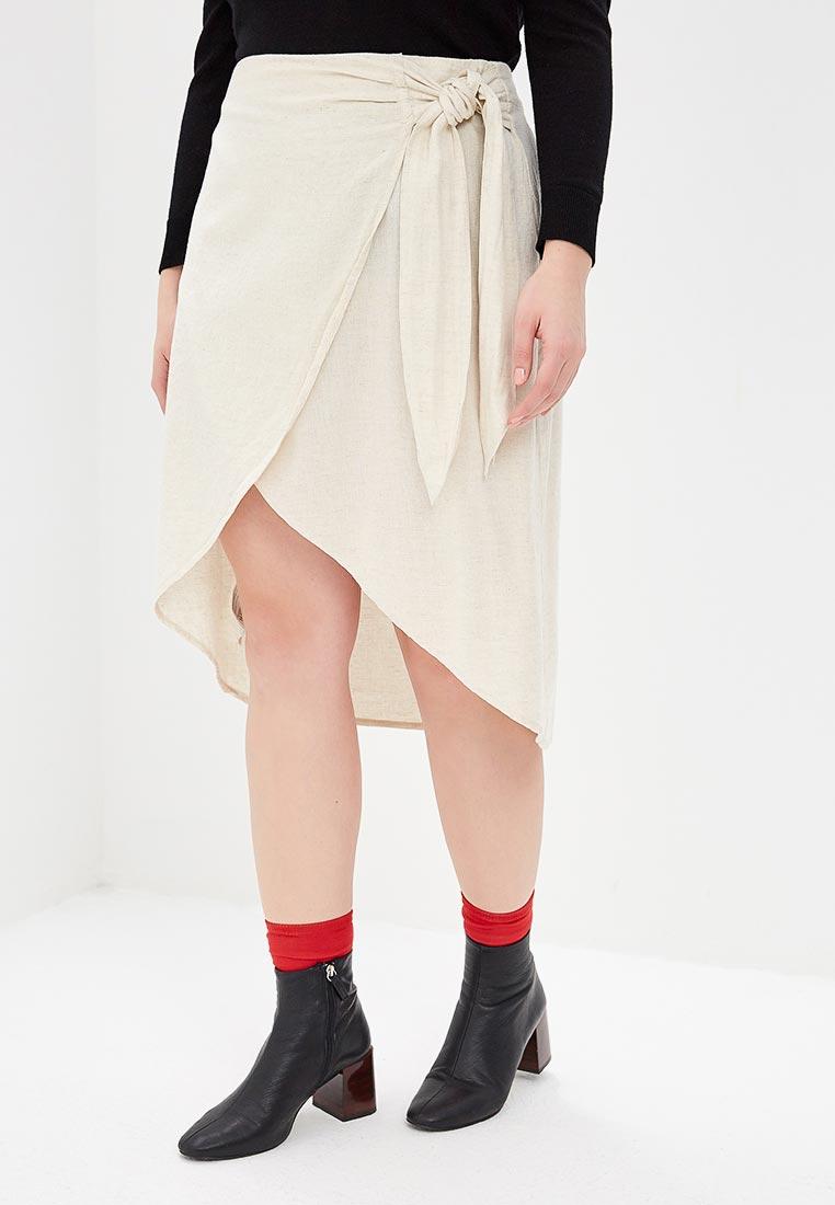 Прямая юбка Violeta by Mango (Виолетта бай Манго) 33070831