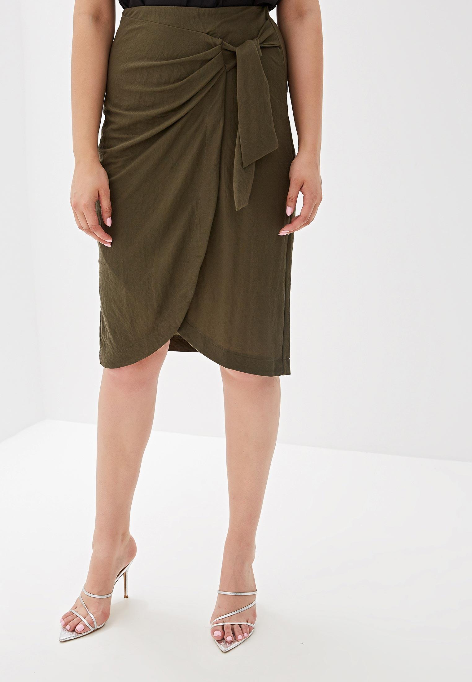 Прямая юбка Violeta by Mango (Виолетта бай Манго) 53080540
