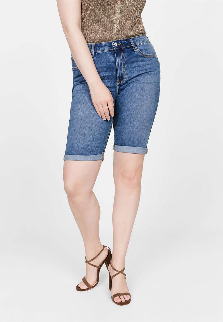 Женские джинсовые шорты Violeta by Mango (Виолетта бай Манго) 53020664