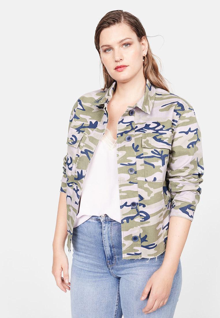 Джинсовая куртка Violeta by Mango (Виолетта бай Манго) 53070918