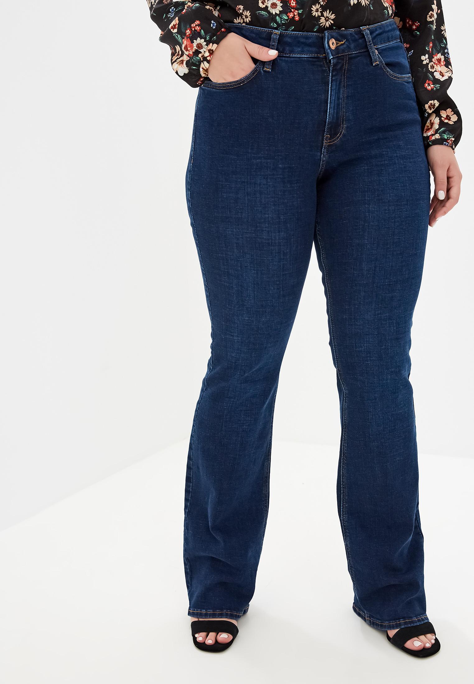 Широкие и расклешенные джинсы Violeta by Mango (Виолетта бай Манго) 53993702