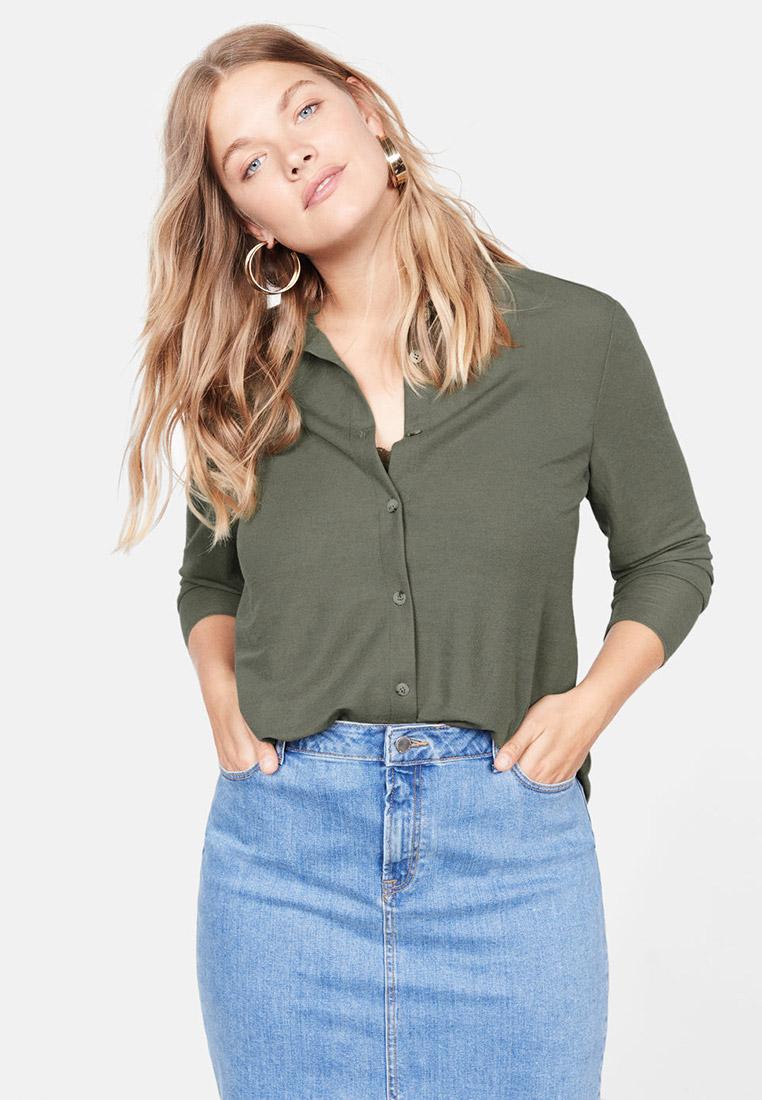 Женские рубашки с длинным рукавом Violeta by Mango (Виолетта бай Манго) 57095781