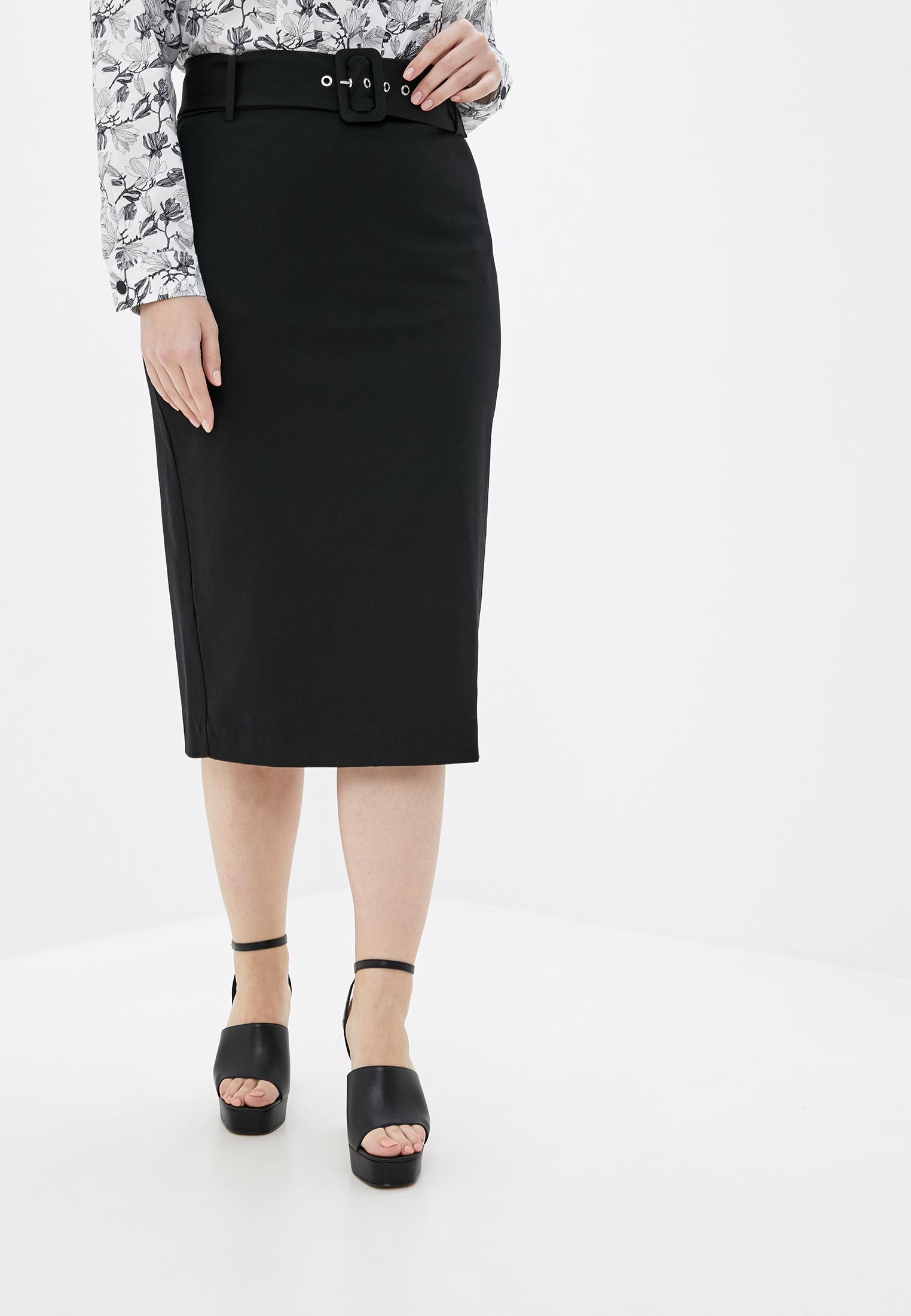Прямая юбка Violeta by Mango (Виолетта бай Манго) 51025755