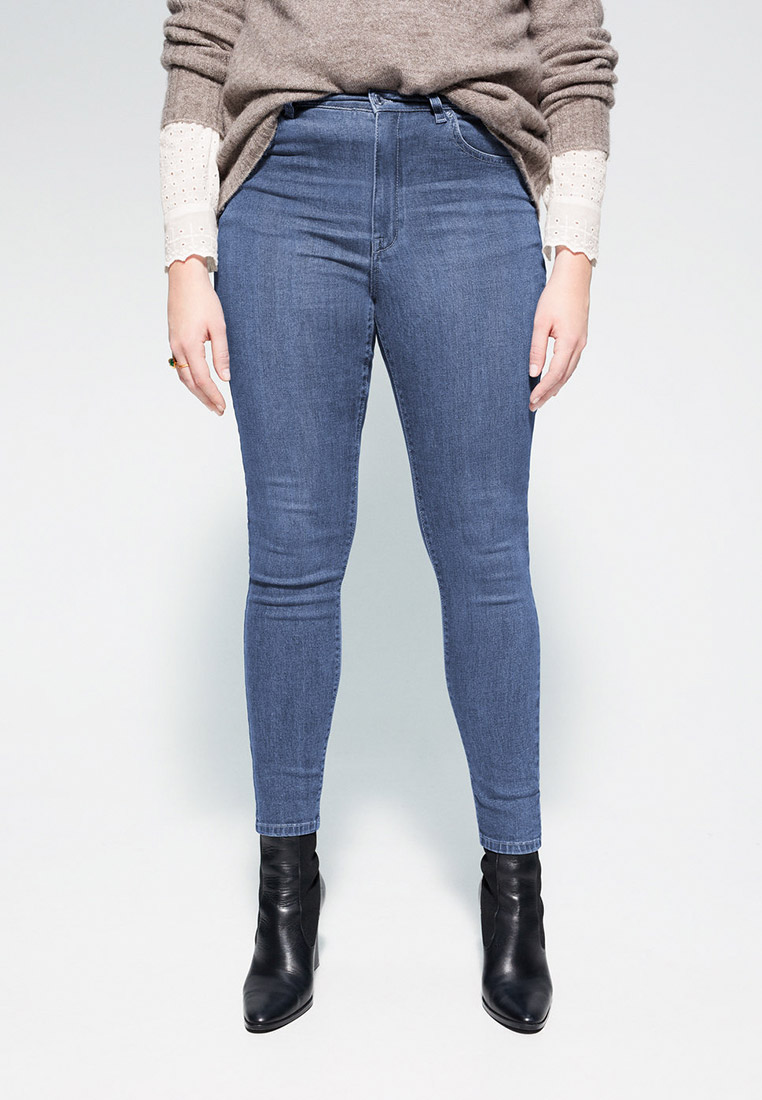 Зауженные джинсы Violeta by Mango (Виолетта бай Манго) 67950034