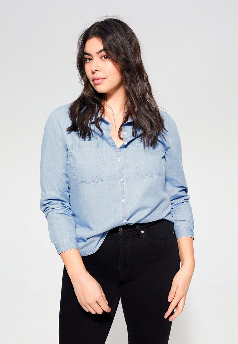 Рубашка Violeta by Mango (Виолетта бай Манго) 67052002