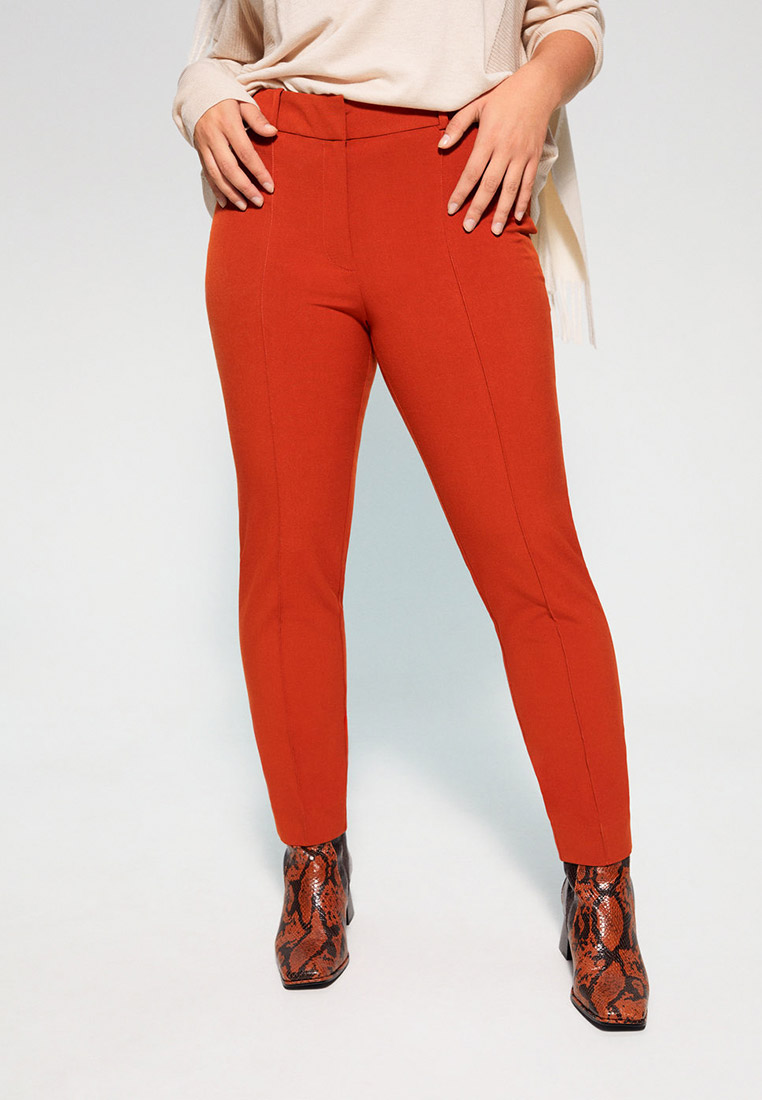 Женские зауженные брюки Violeta by Mango (Виолетта бай Манго) 67070522
