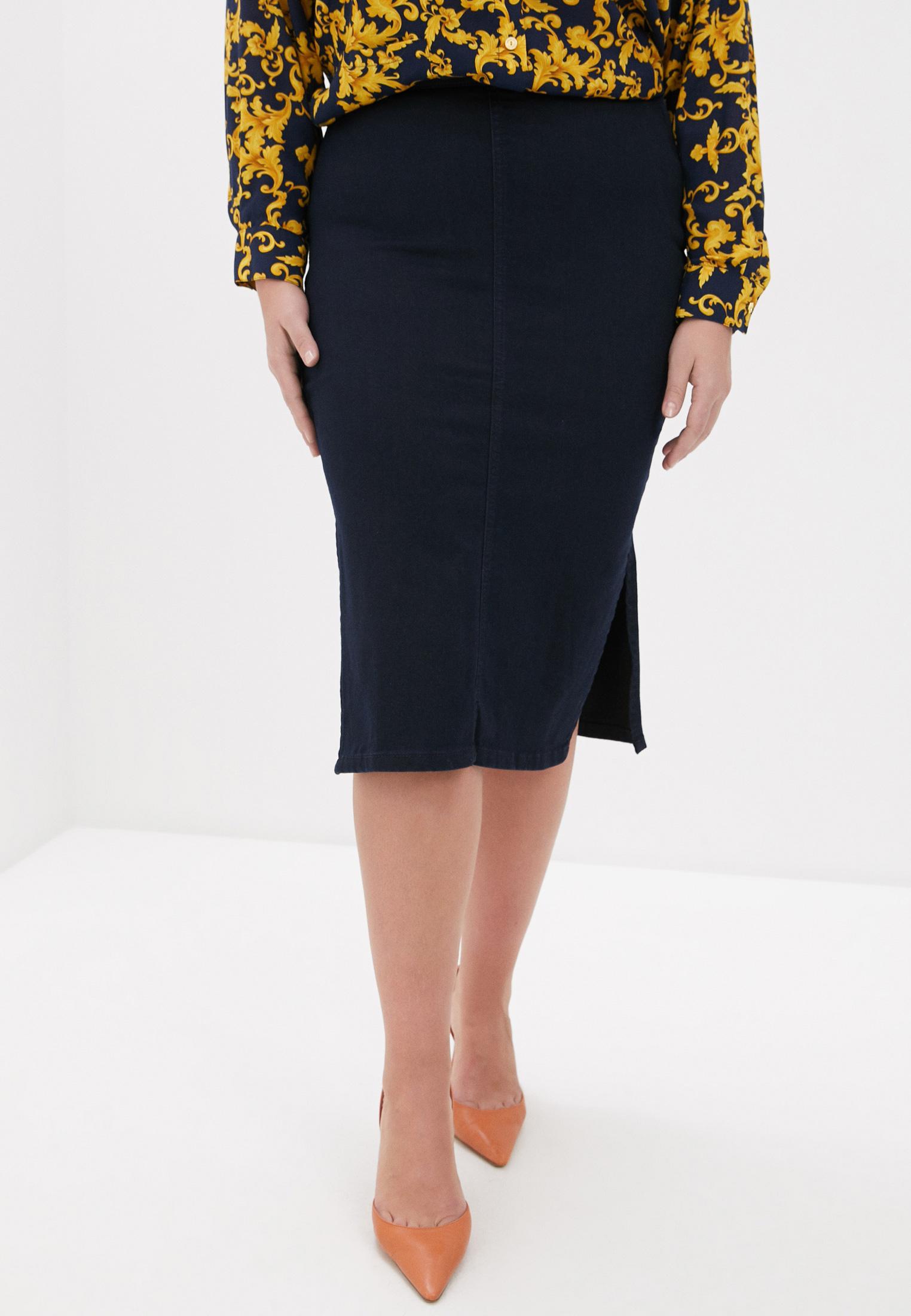 Джинсовая юбка Violeta by Mango (Виолетта бай Манго) 67084001