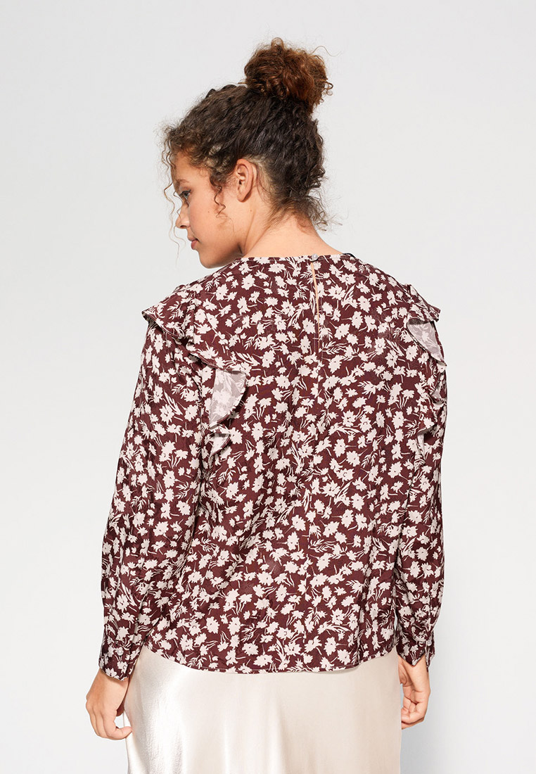 Блуза Violeta by Mango (Виолетта бай Манго) 67025721: изображение 3
