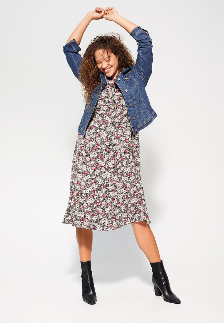 Джинсовая куртка Violeta by Mango (Виолетта бай Манго) 67905501: изображение 2