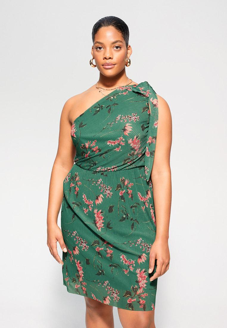 Повседневное платье Violeta by Mango (Виолетта бай Манго) 67045715: изображение 1