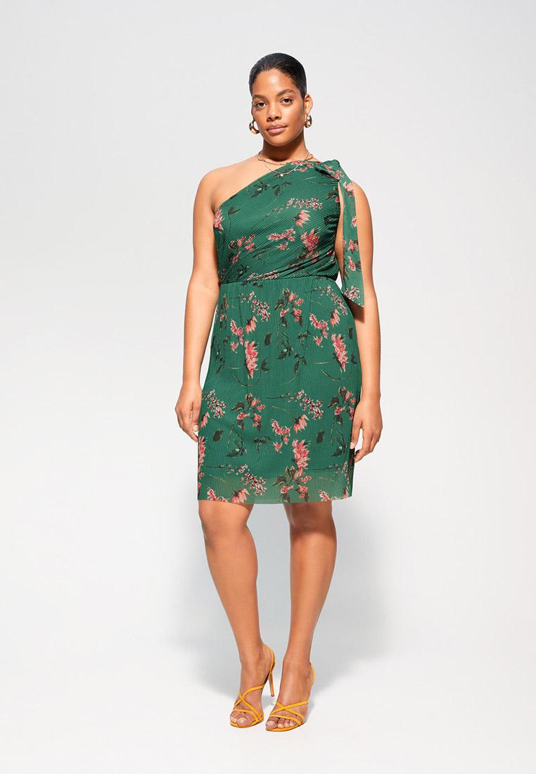 Повседневное платье Violeta by Mango (Виолетта бай Манго) 67045715: изображение 2