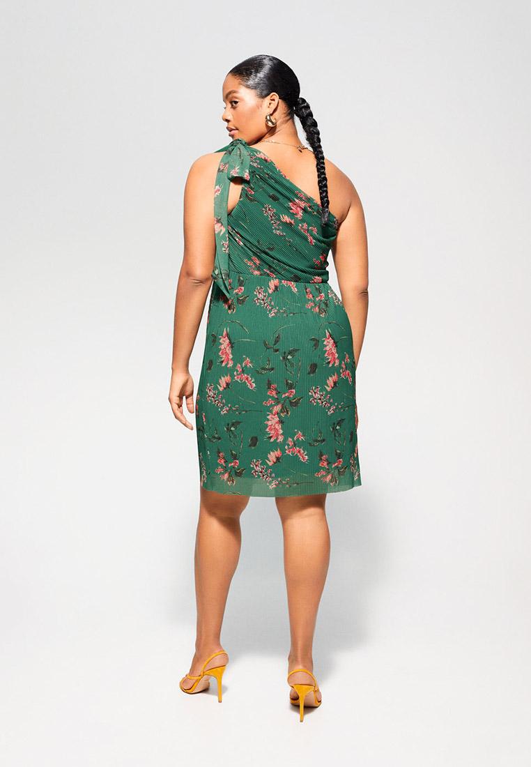 Повседневное платье Violeta by Mango (Виолетта бай Манго) 67045715: изображение 3
