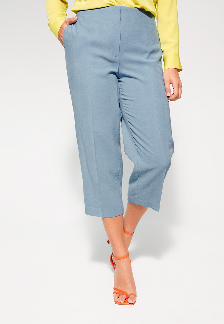 Женские прямые брюки Violeta by Mango (Виолетта бай Манго) 67035702