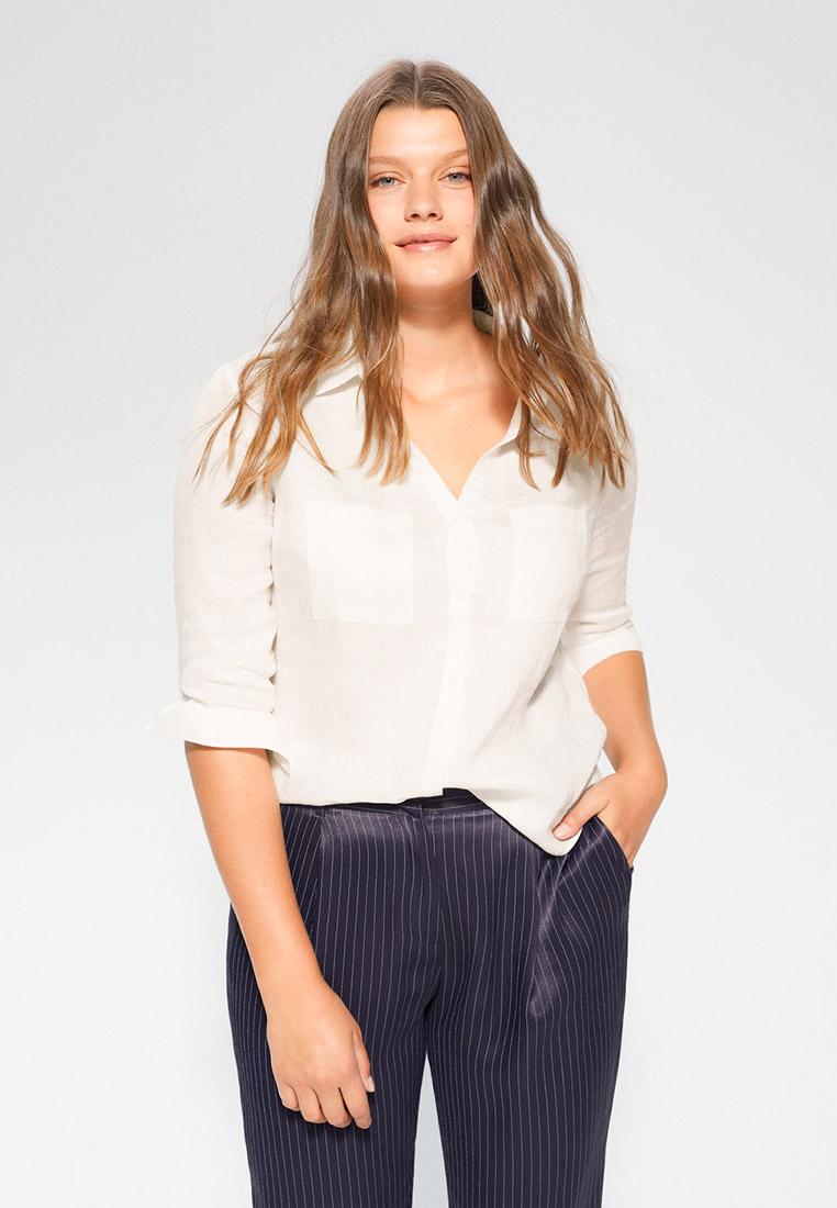 Женские рубашки с длинным рукавом Violeta by Mango (Виолетта бай Манго) 67097647