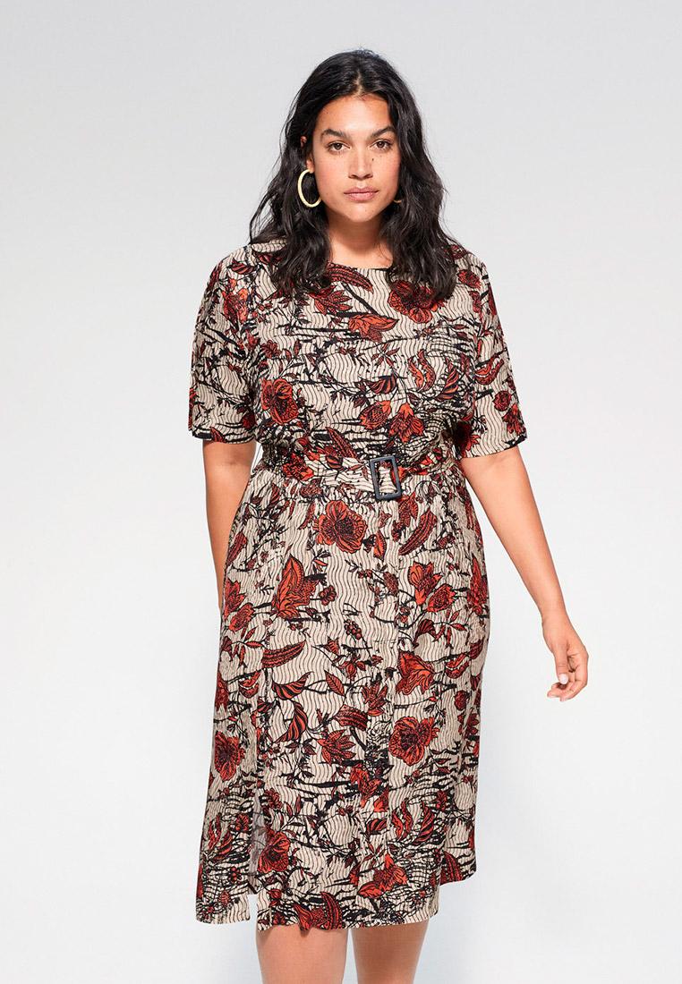 Повседневное платье Violeta by Mango (Виолетта бай Манго) 67017691