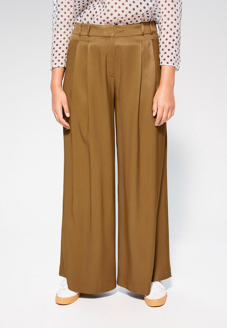 Женские широкие и расклешенные брюки Violeta by Mango (Виолетта бай Манго) 67057885