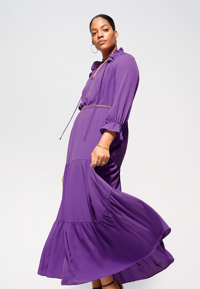 Повседневное платье Violeta by Mango (Виолетта бай Манго) 67045712