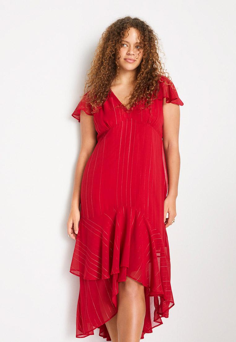 Повседневное платье Violeta by Mango (Виолетта бай Манго) 67075925