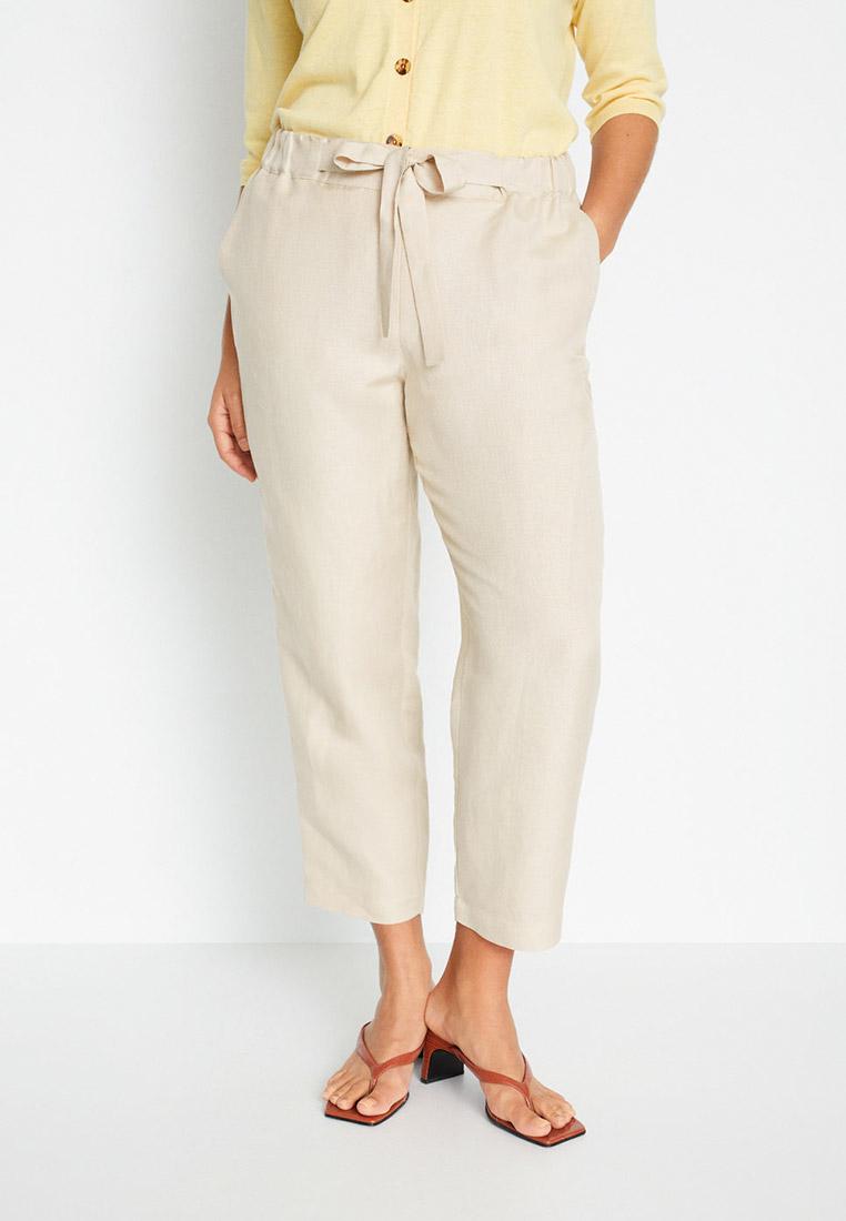 Женские прямые брюки Violeta by Mango (Виолетта бай Манго) 67067646