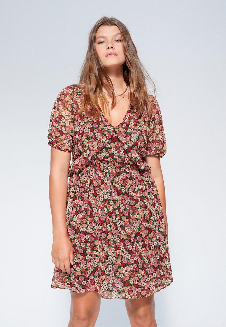 Повседневное платье Violeta by Mango (Виолетта бай Манго) 67039213