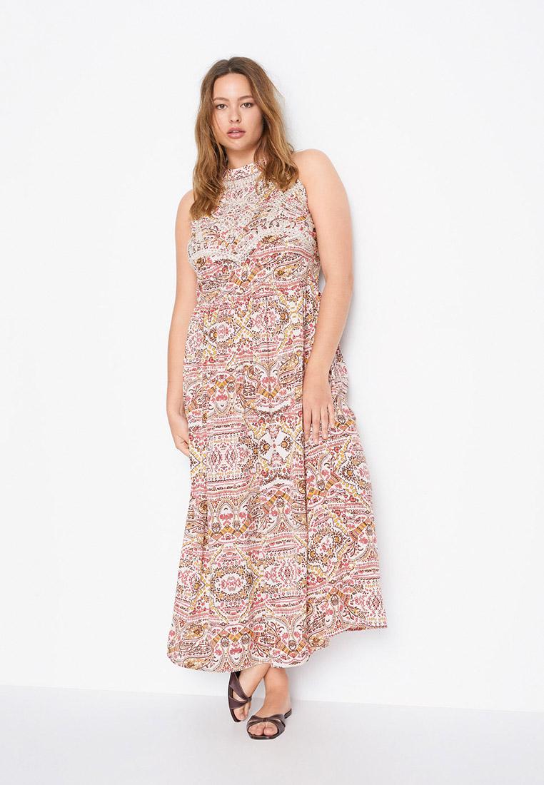 Повседневное платье Violeta by Mango (Виолетта бай Манго) 67047681