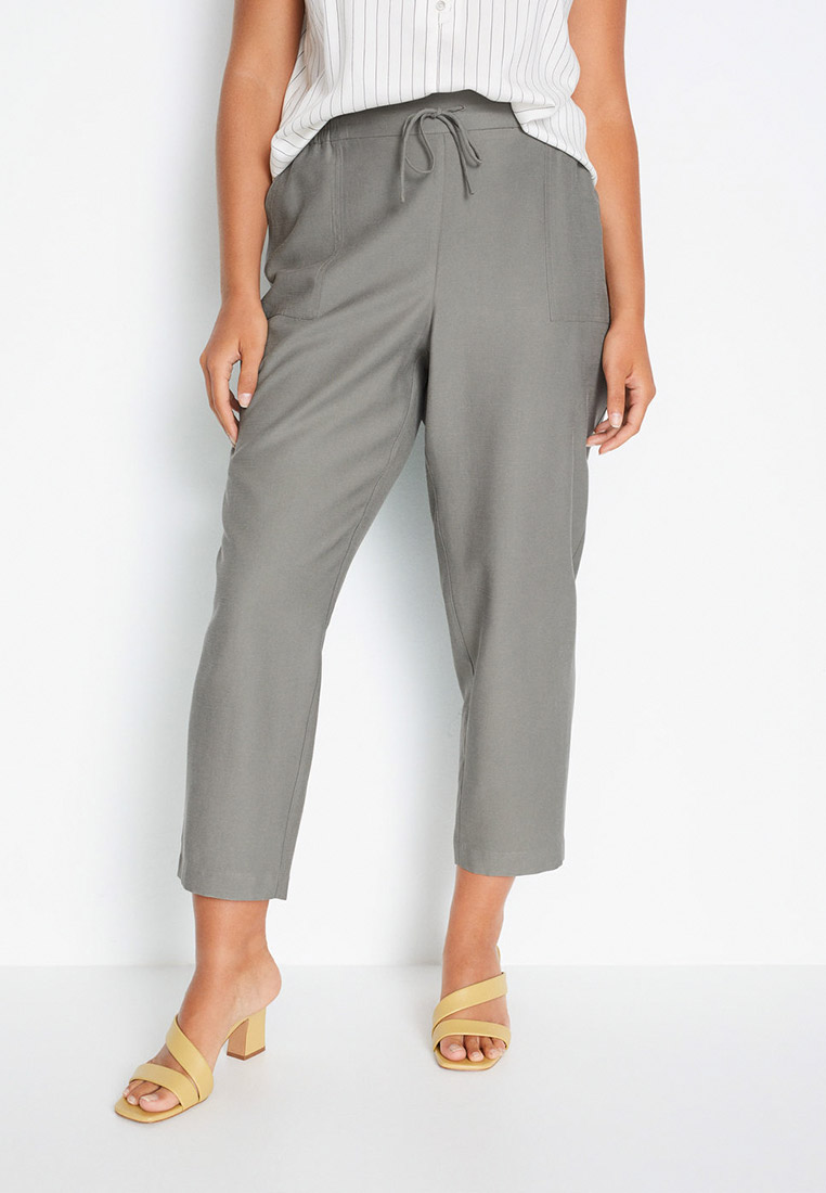 Женские зауженные брюки Violeta by Mango (Виолетта бай Манго) 77090505