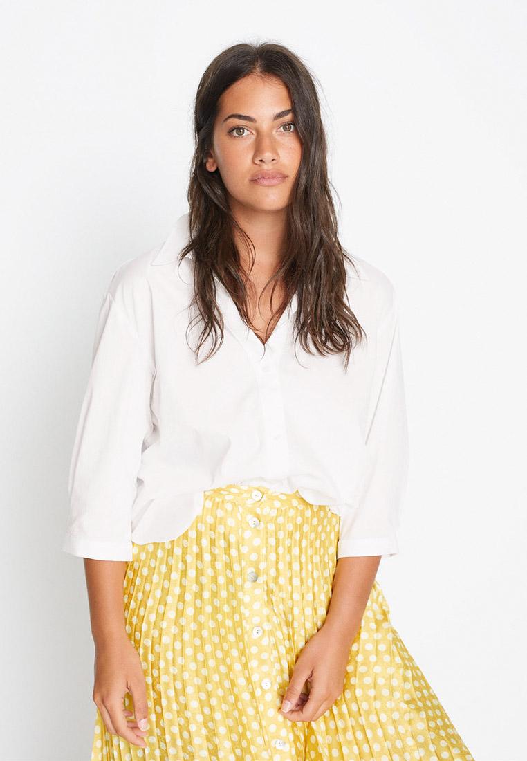 Женские рубашки с длинным рукавом Violeta by Mango (Виолетта бай Манго) 77090553