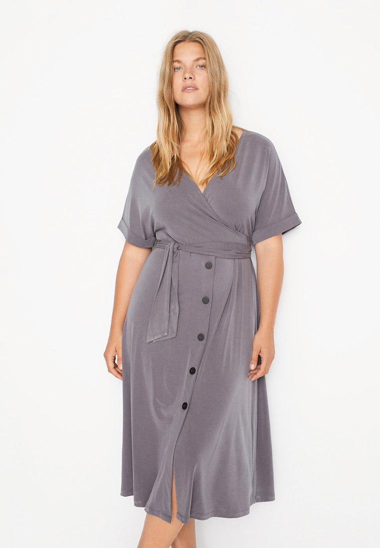 Повседневное платье Violeta by Mango (Виолетта бай Манго) 77084381