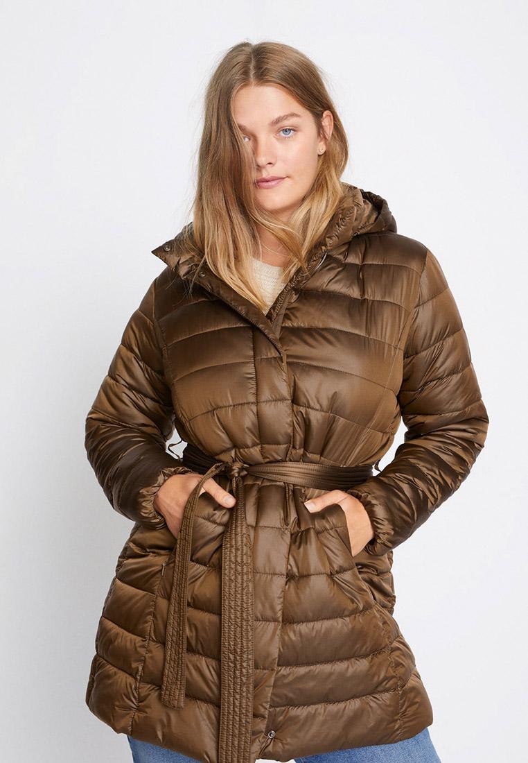 Утепленная куртка Violeta by Mango (Виолетта бай Манго) 77024383