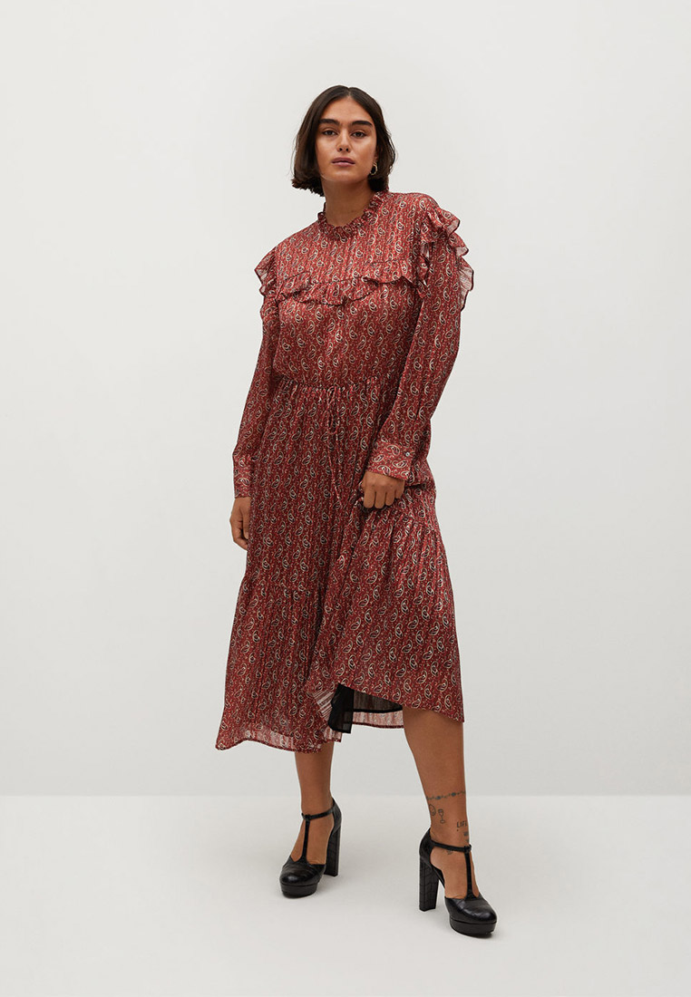 Повседневное платье Violeta by Mango (Виолетта бай Манго) 77077629: изображение 2